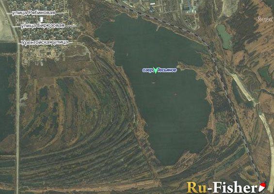 карта рыбалка в тюмени